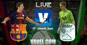 FC Barcelona vs Inter Movistar en vivo y en directo