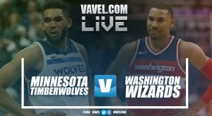 Resumen Minnesota Timberwolves vs Washington Wizards EN VIVO y en directo online en NBA 2017/18 (89-92)