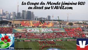 La Coupe du Monde féminine U20 en direct