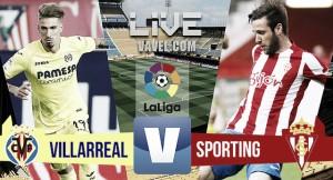 Resumen Villarreal 3-1 Sporting en La Liga Santander 2017