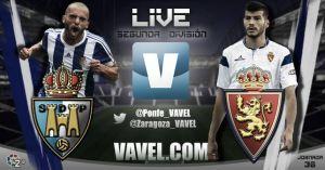 Ponferradina - Real Zaragoza en directo online en Segunda División 2015