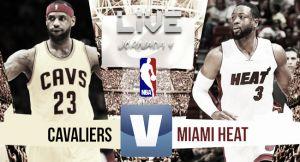 Resultado Cleveland Cavaliers vs Miami Heat (102-92)