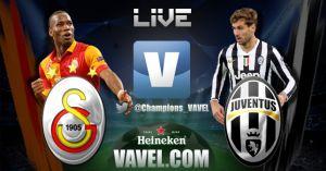 Galatasaray vs Juventus en vivo y directo online