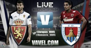 Resultado Real Zaragoza vs Numancia (1-0)