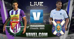 Real Valladolid - CD Tenerife en directo online