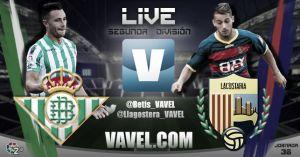 Resultado Real Betis vs Llagostera (2-2)