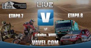 Dakar 2015 en vivo: 7ª y 8ª etapa en directo