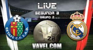 Resultado Getafe B vs Real Madrid Castilla en Segunda B 2015 (2-0)