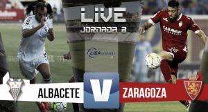 Resultado Albacete Balompié - Real Zaragoza (1-3)
