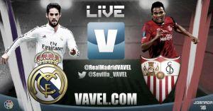 Resultado Real Madrid vs Sevilla en Liga BBVA 2014/15 (2-1)