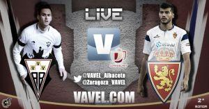 Albacete - Real Zaragoza en directo online