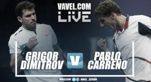 Partido Grigor Dimitrov vs Pablo Carreño en vivo y en directo online en ATP Finals 2017