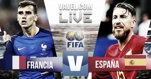Resultado Francia vs España en amistoso 2017 (0-2)