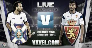 Resultado CD Tenerifevs Real Zaragoza(1-1)