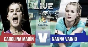 Resultado Carolina Marín vs Nanna Vainio: Carolina por la vía rápida