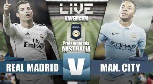 Resultado Real Madrid vs Manchester City en International Champions Cup 2015 (4-1)