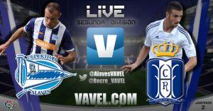 Deportivo Alavés - Recreativo de Huelva en directo online