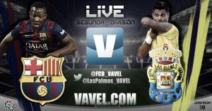 Barcelona B - Las Palmas en directo online