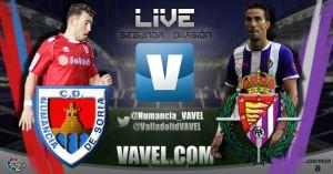 Numancia - Real Valladolid en directo online