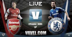 Arsenal vs Chelsea en vivo y directo online