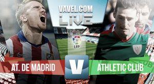 Resultado Atlético Madrid vs Athletic de Bilbao de la Liga BBVA 2015 (0-0)