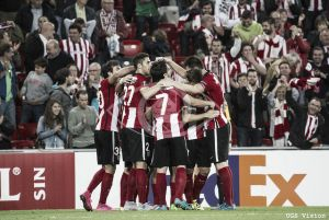 AZ Alkmaar vs Athletic de Bilbao en la UEFA Europa League 2015 (2-1)