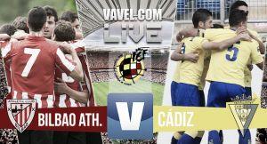 Resultado Bilbao Athletic vs Cádiz en final por el ascenso a la Liga Adelante 2015 (2-0)