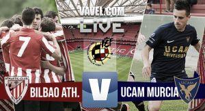Resultado Bilbao Athletic vs UCAM Murcia de la Segunda División B (1-0)