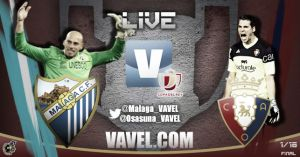 Málaga - Osasuna  en directo