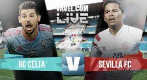 Resultado Celta de Vigo vs Sevilla en la Liga BBVA 2015 (1-1)