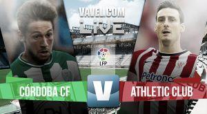 Resultado Córdoba vs Athletic de Bilbao en Liga BBVA 2015 (0-1)