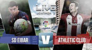 Eibar vs Athletic de Bilbao de la Liga BBVA 2015 (2-0)