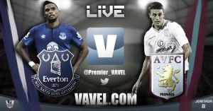 Everton vs Aston Villa en vivo y en directo online