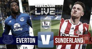 Resultado Everton vs Sunderland en la Premier League 2015 (0-2)