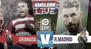 En vivo: Granada vs Real Madrid 2016 minuto a minuto en la Liga