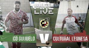 Resultado partido Guijuelo - Cultural Leonesa en Segunda B 2015 (3-1)