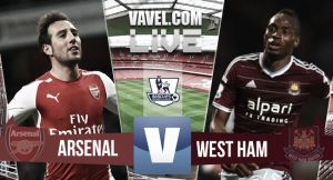 Resultado Arsenal vs West Ham United en la Premier League 2015 (3-0)