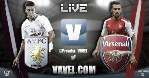 Premier League: Aston Villa vs Arsenal en vivo y en directo online