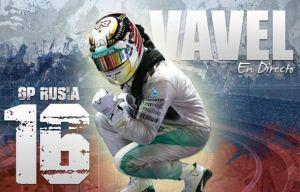 Hamilton dominatore, Vettel secondo. Rivivi la diretta del GP di Russia