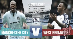 Resultado Manchester City vs West Bromwich Albion en la Premier League 2015 (3-0)