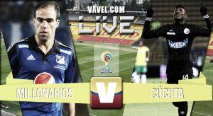 Millonarios vs Cúcutaen vivo y en directo online en laLiga Águila2015 (3-0)