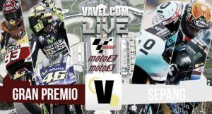 Resultados de la carrera de MotoGP del GP de Malasia 2015: Rossi tira a Márquez