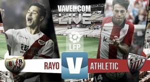 Rayo Vallecano vs Athletic de Bilbao en vivo y en directo online en Liga BBVA 2015 (0-0)