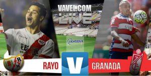 Resultado Rayo Vallecano vs Granada (2-1)