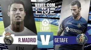 Resultado Real Madrid - Getafe en Liga BBVA 2015 (4-1): Al Real Madrid le sobra una mitad para sentenciar al Getafe CF