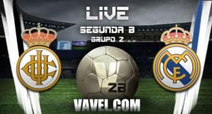 Resultado Real Madrid Castilla vs Real Unión de Irún en Segunda B 2016 (1-0)