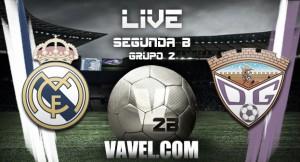 Real Madrid Castilla - Guadalajara en directo online en Segunda B 2016 (6-3)