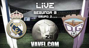 Resultado Real Madrid Castilla vs Guadalajara en Segunda División B 2015 (1-1)