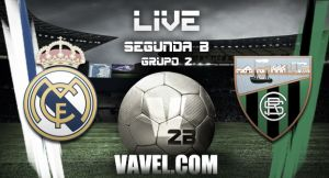 Real Madrid Castilla - Sestao River en vivo online (2-2)
