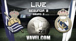 Resultado Real Madrid Castilla - Real Sociedad B en Segunda B 2015 (2-1)